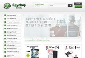 Abhörgeräte im Spyshop kaufen