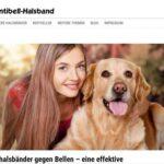 Erziehungshalsbänder für Hunde