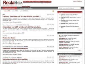 Beschwerdeportal ReclaBox
